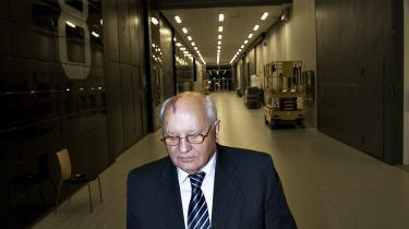 Mikhail Gorbatjov under et besøg i Danmark 2007. Foto: Klaus Holsting