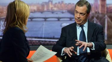 Nigel Farage, leder af UKIP, har en baggrund og en personlighed, der tiltrækker en speciel type konservative vælgere, mener ekspert.