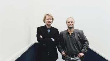 »Jeg kan næsten ikke forestille mig et bedre samarbejde. Det var jo også derfor, at det gjorde så ondt,« siger Joakim Garff om bruddet med kollegaen Peter Tudvad.