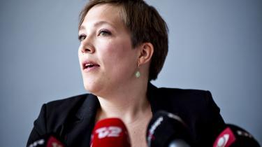 Sundhedsminister Astrid Krag (SF). Foto: Scanpix