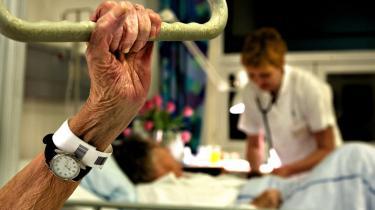 Tre fjerdedele af de samlede offentlige udgifter – bl.a. driftsudgifter til sygehuse og ældrepleje – er omfattet af udgiftslofterne for de kommende fire år, som regeringen i dag har på dagsordenen.