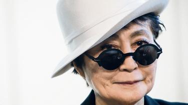 Det var ved at løbe af sporet, da Louisiana holdt pressemøde med en veloplagt og nuttet Yoko Ono