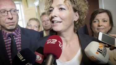 Undervisningsminister Christine Antorini (S) fik givet Venstre og Dansk Folkeparti så mange indrømmelser, at de to partier bakkede op om folkeskolereformen.
