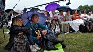 Deltagere ved Folkemødet på Bornholm lyttede i går til den radikale leder Margrethe Vestager, som blandt andet konstaterede, at der de seneste år er færre danskere som deltager aktivt i demokratiet.