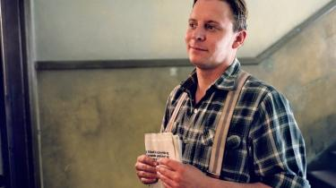 Palle From (Anders W. Berthelsen) i 'Krøniken' er med sin arbejderbaggrund en klar undtagelse i DR-dramaserierne. Og den unge From får da også snart arbejdet sig op i Djøf-segmentet.