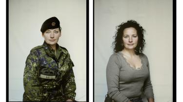 Anne-Cathrine Riebnitzsky har to gange været udsendt til Afghanistan. Her var hendes opgave blandt andet at skabe kontakt til de afghanske kvinder og hjælpe dem med at starte projekter.