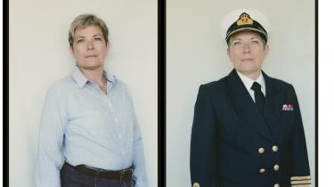 Toppost. Annemette Ruth kunne være blevet Danmarks første kvindelige admiral, men hun søgte ikke stillingen, da hun ikke mener, at arbejdsmiljøet i Forsvarets topledelse er noget for hende.