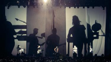 Nine Inch Nails ved en koncert i Japan i juli i år. Foto: Rob Sheridan/NIN