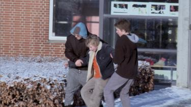 Bjørn er en af hovedpersonerne i dokumentarfilmen 'Drengelejren'. Vi ser Bjørn blive rutinemæssigt hevet, flået og spraket i i frikvarteret. Men på drengelejren er der ingen mobning.