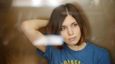 Nadesjda Tolokonnikova har indledt en sultestrejke i den arbejdslejr, hvor hun afsoner sin fængselsstraf. Arkivfoto: AFP/Scanpix