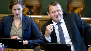 Tavs. 694 dage har Lars Løkke Rasmussen holdt sig væk fra Folketingets talerstol.