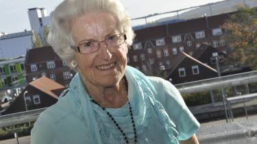 Engagement. Ellen Tønnesens politiske hjerte lå hos partiet Venstre, men hun havde også et stort engagement for de svage i samfundet. Privatfoto