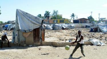 Tilstedeværelsen af FN's fredsbevarende mission har skabt en stabil ramme for genopbygningen af Haiti efter jordskælvet i 2010