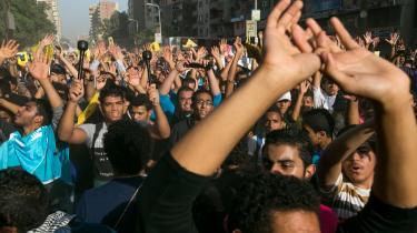 I weekenden har tusinder af tilhængere af Mursi og Broderskabet været på gaden. Alle frygter sammenstød i dag.