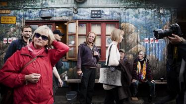 Retsudvalget kom på besøg på Christiania den 7. juni 2012. Men i første omgang blev det aflyst.