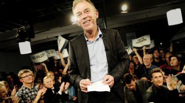 Socialistisk Folkepartifejrer Villy Søvndal ogatdeerkommetiregeringpåTAP2på Carlsberg i 2011. Foto: Mads Nissen