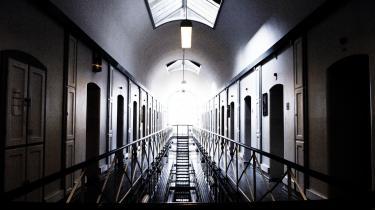Ifølge Finansministeriets opgørelser sad der i 2012 i gennemsnit hver dag 1.042 udenlandske indsatte i landets fængsler og arresthuse. Eller lidt mere end hver fjerde af de i alt 3.970 indsatte. Her Vestre Fængsel i København.