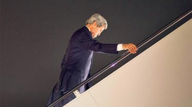 Der er delte meninger om John Kerrys forsøg på at melde USA tilbage som en afgørende aktør i mellemøstlig politik, efter at hans forgænger ellers havde meldt stormagten ude. Foto: Pablo Martinez Monsivais/Reuters