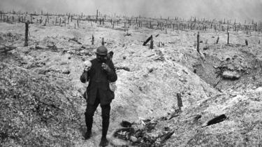 Alene i Frankrig mistede hver anden unge mand livet under Første Verdenskrig. To nye bøger giver hver deres bud på, hvem der bærer ansvaret for den europæiske katastrofe. Foto: Scanpix