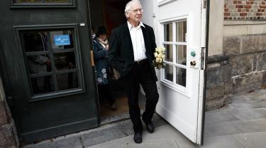 Professor Bent Jensen i Østre Landsret, hvor han i december blev frifundet for injurier mod journalist Jørgen Dragsdahl.