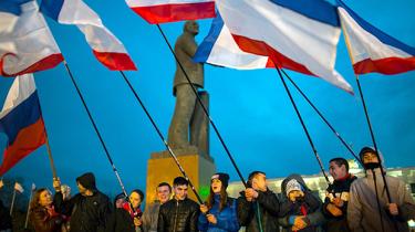 Der er forskellige opfattelser af, hvor fri søndagens folkeafstemning om Krims indlemmelse i Rusland har været
