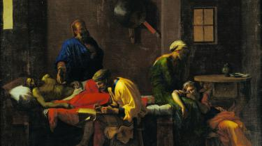 'Eudamidas' Testamente': Den uden sammenligning mest værdifulde erhvervelse, som kom ud af statens Robin Hood-inspirerede omfordeling, var Nicolas Poussins berømte billede 'Eudamidas' testamente' (t.v) fra 1640'ere. Maleriet, der i dag betragtes som et hovedværk inden for fransk klassicisme, blev erhvervet fra grev Moltkes samling og overdraget til Statens Museum for Kunst, hvor det stadig udgør et af museets absolutte hovedværker