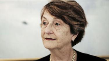 Videnskabelige studier har vist, at omkring 50 pct. af arbejdere i uranminer fik lungekræft, siger læge Helen Caldicott, der er i Danmark for at advare mod uranudvinding i Grønland