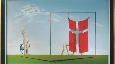 Sven Dalsgaard, 'Samme sted (To stænger)', 1978. Privateje.