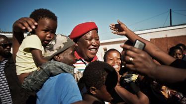 I Sydafrika vinder det politiske parti Economic Freedom Fighters (EFF) med leder Julius Malema i spidsen stigende opbakning blandt vælgerne i landets townships.