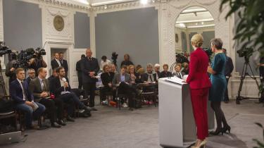 »Vækst findes ikke kun ved at løsne afgifts- og skatteskruen,« siger statsminister Helle Thorning-Schmidt