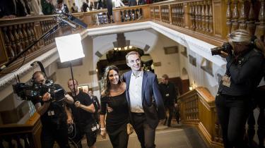 EU-valgets klare vinder varMorten Messerschmidt og Dansk Folkeparti, som med mere en 26 procent af stemmerne får fire mandater i Europa-parlamentet