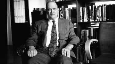 Tidligere NSA-direktør William Binney fotograferet i 2012