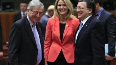 EU-landene vil på et topmøde i dag forsøge at nå til enighed om besættelsen af posterne som EU-præsident og EU-udenrigsminister. Bag de tilsyneladende banale personspørgsmål er der et indædt politisk opgør om Unionens fremtid