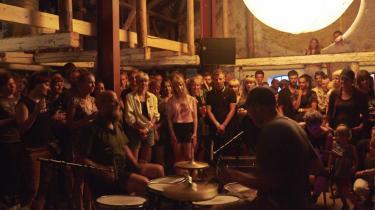 To/To med Oliver Hoiness og Nis Bysted på Sejerø Festival.