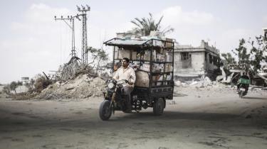 Mange indbyggere i Gaza er vendt tilbage til ødelagte hjem og skal nu genhuses.