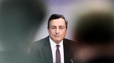 Den Europæiske Centralbanks direktør, Mario Draghi, gav allerede for to uger siden udtryk for, at EU er ved at have nået grænsen for den pengepolitik for eurozonen via rentesænkning og pengeudpumpning, men som ikke har været tilstrækkelig til at bringe EU ud af krisen.