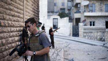 James Foley arbejdede som freelancer i Syrien, indtil han blev kidnappet og halshugget af Islamisk Stat som hævnaktion for USA's luftangreb i Irak.