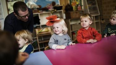 Der skal være et minimum for antallet af pædagoger i børneinstitutioner, mener Enhedslisten.