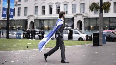 Selvom Skotland ikke blev selvstændigt ved valget i torsdags, afspejlede afstemningen vores fortsatte søgen mod national identitet, siger forsker.