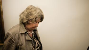 Birthe Rønn Hornbech (V) måtte gå som integrationsminister, da hendes ministerium – meget hensynsfuldt over for Dansk Folkeparti – havde ladet hånt om statsløses rettigheder ifølge internationale konventioner.