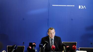Lars Løkke Rasmussen (V) på anklagebænken: GGGI-sagen indledte et stormvejr for Løkke, men en ny undersøgelse af GGGI vedrører angiveligt ikke Løkkes periode som formand for organisationen.