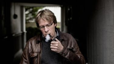 'Mit ærinde er at vise de menneskelige faktorer, at det ikke bare var folkets vilje, der fik tingene til at ske, men at det også var individer og individers handlinger eller ikke-handling i en bestemt periode,' siger Anders Østergaard om sin nye film '1989', der handler om Murens fald.