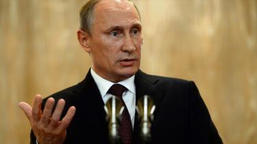 Samuel Rachlin holder sig ikke tilbage med lommepsykologiske vurderinger af Ruslands præsident, mener Georg Metz.