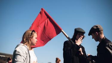I dag er Socialistisk Arbejderpolitiks projekt Enhedslisten, og derfor passer det ikke længere de omkring 100 medlemmer at kalde sig et parti. Arkivfoto: Jakob Dall