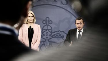 Helle Thorning Schmidt og regeringen indgik i går en aftale med Venstre, SF og Konservative om det danske EU-forbehold på retsområdet.