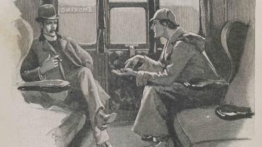'The Adventure of the Silver Blaze'. Illustration af Sidney Paget fra The Strand Magazine (1892). Alex Werner Private Collection