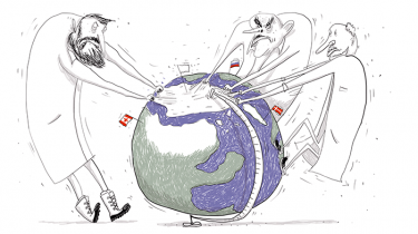 Danmark indgiver mandag sit krav til FN om at udvide rigets grænser i Arktis. Efter FN's videnskabelige vurdering venter et politisk spil om blandt andet, hvem Nordpolen tilhører. Forhandlingerne med Rusland bliver 'benhårde', forventer udenrigsminister Martin Lidegaard