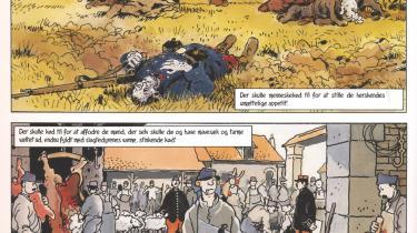 Illustration: Jacques Tardi/'Fandens til krig'