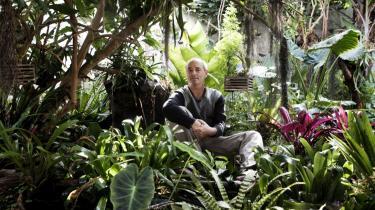 Der vokser 106 vilde orkidéarter i Antonio Cilloniz Bemavides hjemmelavede regnskov, og det er kun med nød og næppe, han kan få plads til en bænk i hjørnet.