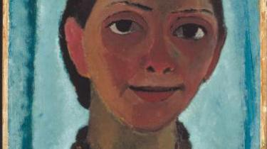 Maleren Paula Modersohn-Beckers billeder bærer det kommende i sig, selv døde hun på tærskelen til det nye